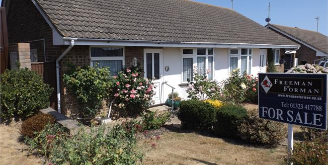Asking Price £245,000, 2 Bedroom Semi Detached Bungalow For Sale in Eastbourne, BN23