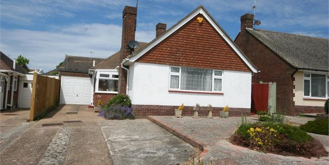 Asking Price £325,000, 2 Bedroom Detached Bungalow For Sale in Eastbourne, BN22