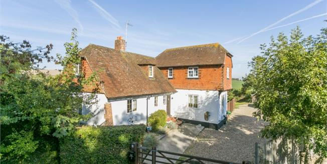 £1,200,000, 4 Bedroom Detached House For Sale in Alfriston, BN26