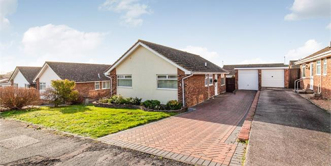 Asking Price £275,000, 2 Bedroom Detached Bungalow For Sale in Eastbourne, BN23