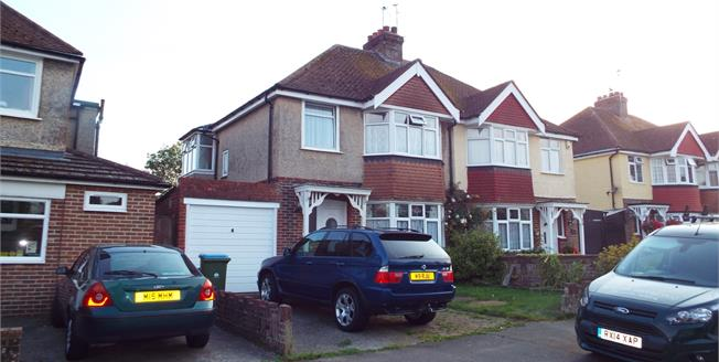 Asking Price £280,000, 3 Bedroom Semi Detached House For Sale in Bognor Regis, PO21