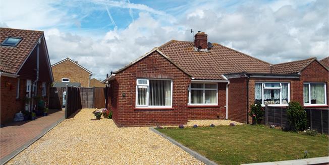 Asking Price £265,000, 2 Bedroom Semi Detached Bungalow For Sale in Bognor Regis, PO22