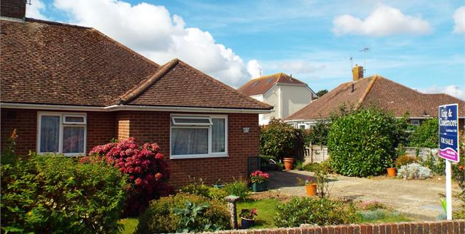 Asking Price £255,000, 2 Bedroom Semi Detached Bungalow For Sale in Bognor Regis, PO22