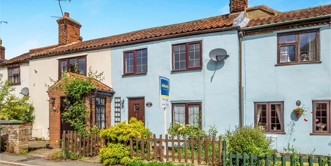 Offers in excess of £160,000, 2 Bedroom Terraced Cottage For Sale in Buxton, NR10