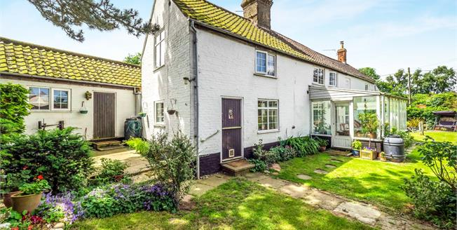 Offers in excess of £350,000, 3 Bedroom Detached Cottage For Sale in Worstead, NR28