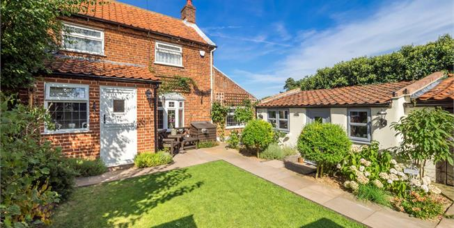 Offers in the region of £275,000, 3 Bedroom Semi Detached Cottage For Sale in Lessingham, NR12
