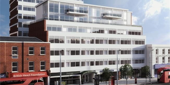 Guide Price £280,000, 1 Bedroom Flat For Sale in Croydon, CR0