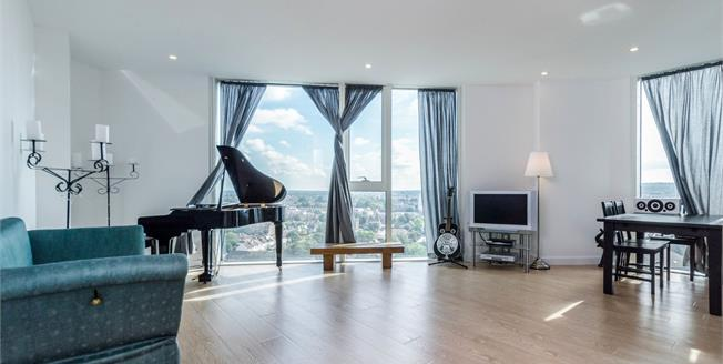 Offers in excess of £485,000, 2 Bedroom Flat For Sale in Croydon, CR0