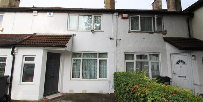 Offers in excess of £300,000, 2 Bedroom Terraced House For Sale in Croydon, CR0