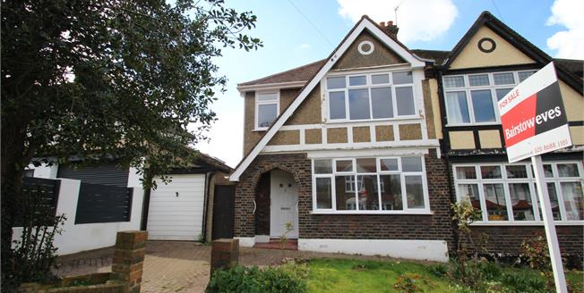 Asking Price £475,000, 3 Bedroom Semi Detached House For Sale in South Croydon, CR2