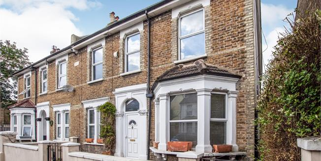 Asking Price £475,000, 3 Bedroom End of Terrace House For Sale in Croydon, CR0