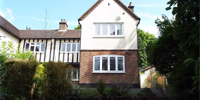 Guide Price £600,000, 4 Bedroom Semi Detached House For Sale in Purley, CR8
