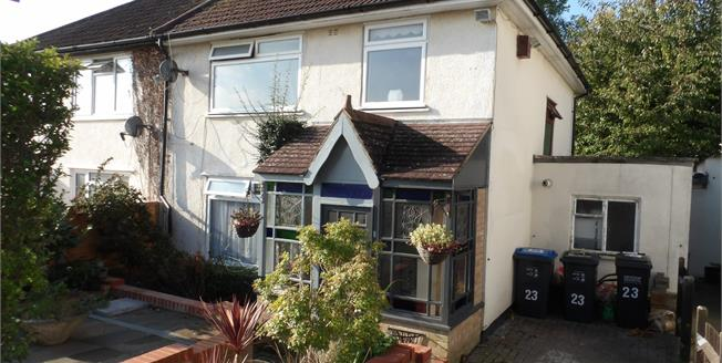 Guide Price £380,000, 3 Bedroom Semi Detached House For Sale in South Croydon, CR2
