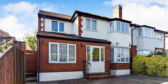 Guide Price £545,000, 5 Bedroom Semi Detached House For Sale in South Croydon, CR2