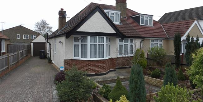 Guide Price £470,000, 3 Bedroom Semi Detached Bungalow For Sale in South Croydon, CR2