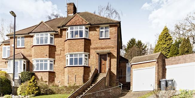 Guide Price £475,000, 3 Bedroom Semi Detached House For Sale in Croydon, CR0