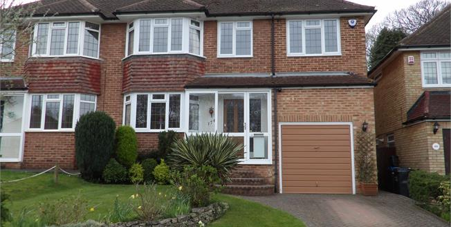 Guide Price £615,000, 5 Bedroom Semi Detached House For Sale in South Croydon, CR2