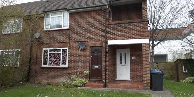 Guide Price £210,000, 1 Bedroom End of Terrace Maisonette For Sale in South Croydon, CR2