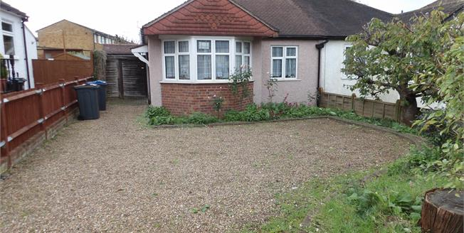 Guide Price £415,000, 2 Bedroom Semi Detached Bungalow For Sale in South Croydon, CR2