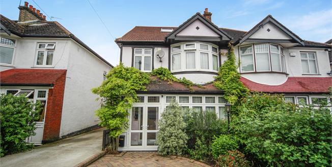 Offers in excess of £600,000, 4 Bedroom Semi Detached House For Sale in South Croydon, CR2