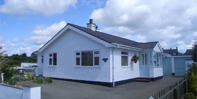 Offers in the region of £278,000, 3 Bedroom Detached Bungalow For Sale in Mynytho, LL53