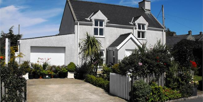 £239,500, 3 Bedroom Detached Cottage For Sale in Gwynedd, LL53
