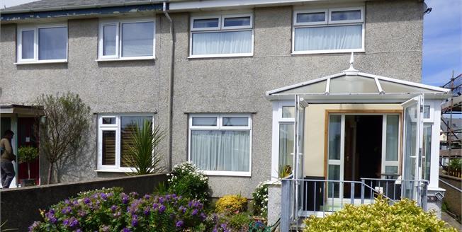 Asking Price £172,000, 3 Bedroom Semi Detached House For Sale in Llanbedrog, LL53