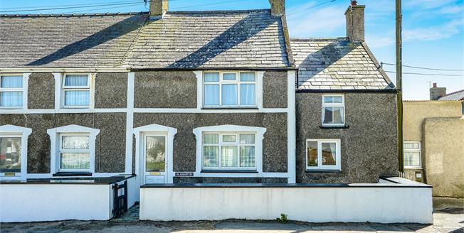Asking Price £205,000, 3 Bedroom Semi Detached House For Sale in Aberdaron, LL53