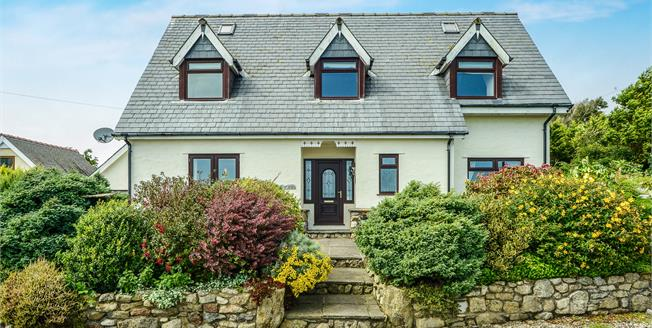 Asking Price £399,000, 4 Bedroom Detached House For Sale in Mynytho, LL53