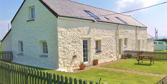 Asking Price £295,000, 3 Bedroom Semi Detached House For Sale in Nr Abersoch, LL53