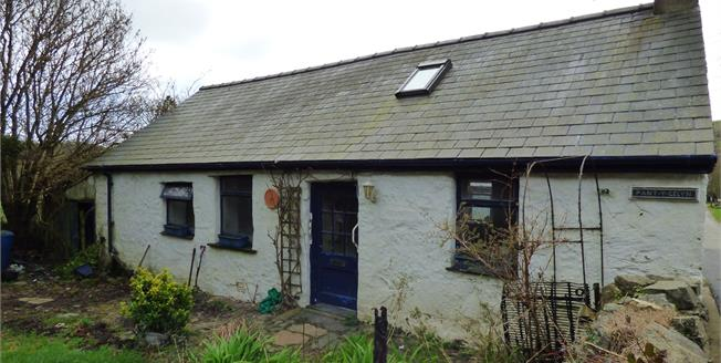 Asking Price £160,000, 1 Bedroom Detached Cottage For Sale in Llaniestyn, LL53
