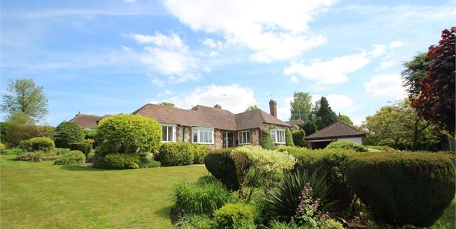 Guide Price £700,000, 4 Bedroom Detached Bungalow For Sale in West Chiltington, RH20