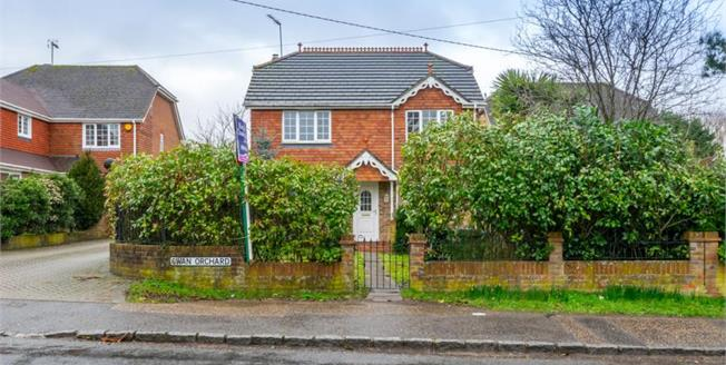 Guide Price £475,000, 4 Bedroom Detached House For Sale in Ashington, RH20