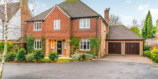 Guide Price £700,000, 5 Bedroom Detached House For Sale in Ashington, RH20