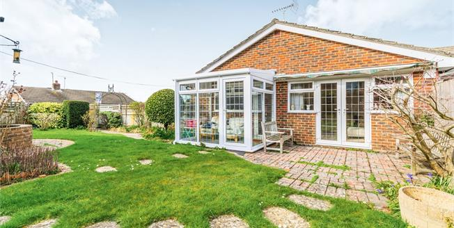 Guide Price £380,000, 2 Bedroom Link Detached House Bungalow For Sale in West Chiltington, RH20