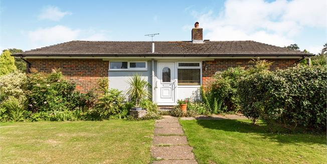 Asking Price £390,000, 2 Bedroom Bungalow For Sale in West Chiltington, RH20